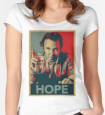DOUG STANHOPE Women's Fitted Scoop T-Shirt