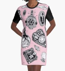 Witchy  Graphic T-Shirt Dress