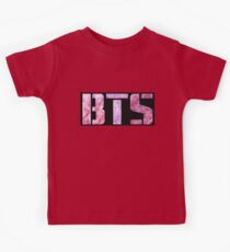 Pink BTS Kids Tee