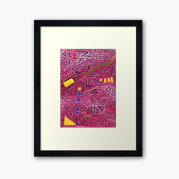 RAYCLEST 1 Framed Art Print