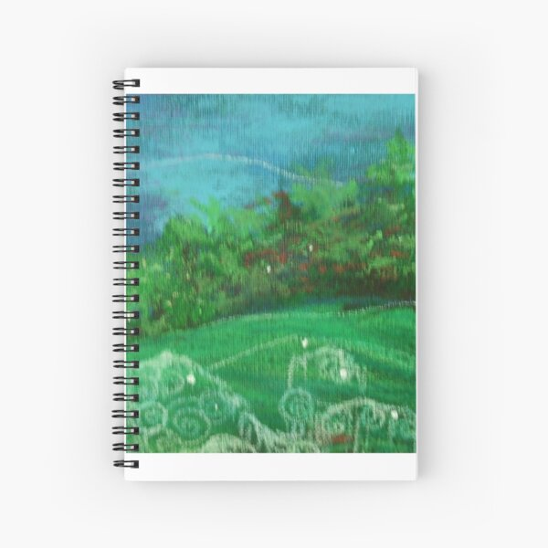 Celtic Spirit Stones Spiral Notebook
