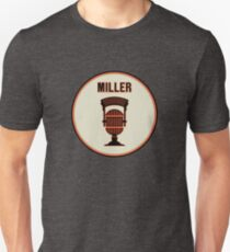 SF Giants HOF Announcer Jon Miller Pin T-Shirt