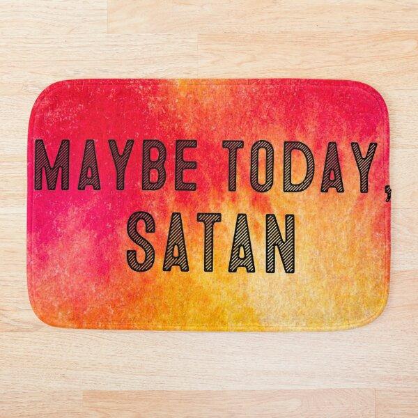 Maybe Satan Bath Mat