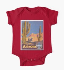 Vintage poster - Arizona One Piece - Short Sleeve
