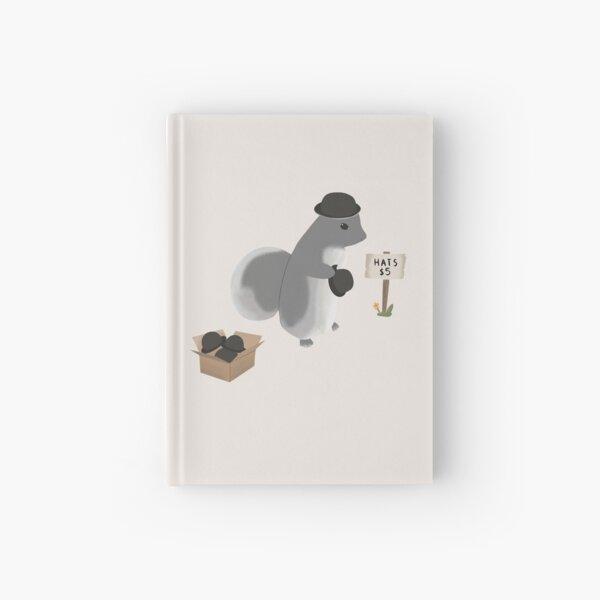 Squirrel Hat Vendor  Hardcover Journal