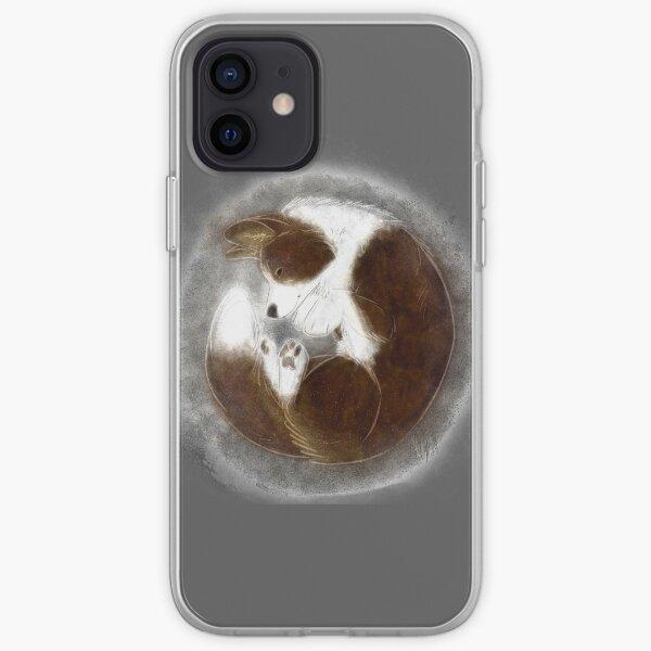 Pastel Cardigan Welsh Corgi - Brindle iPhone Soft Case