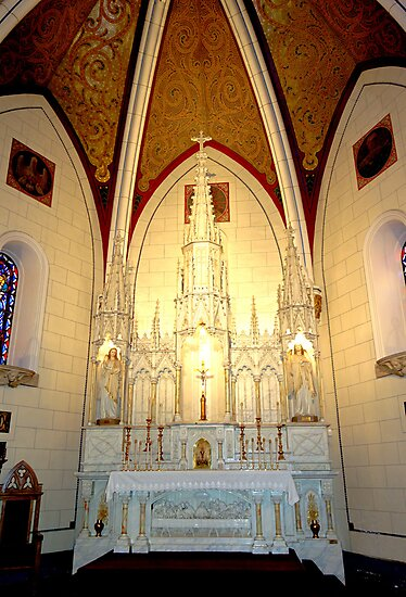 Loretto Chapel Altar C  by Robert Meyers-Lussier