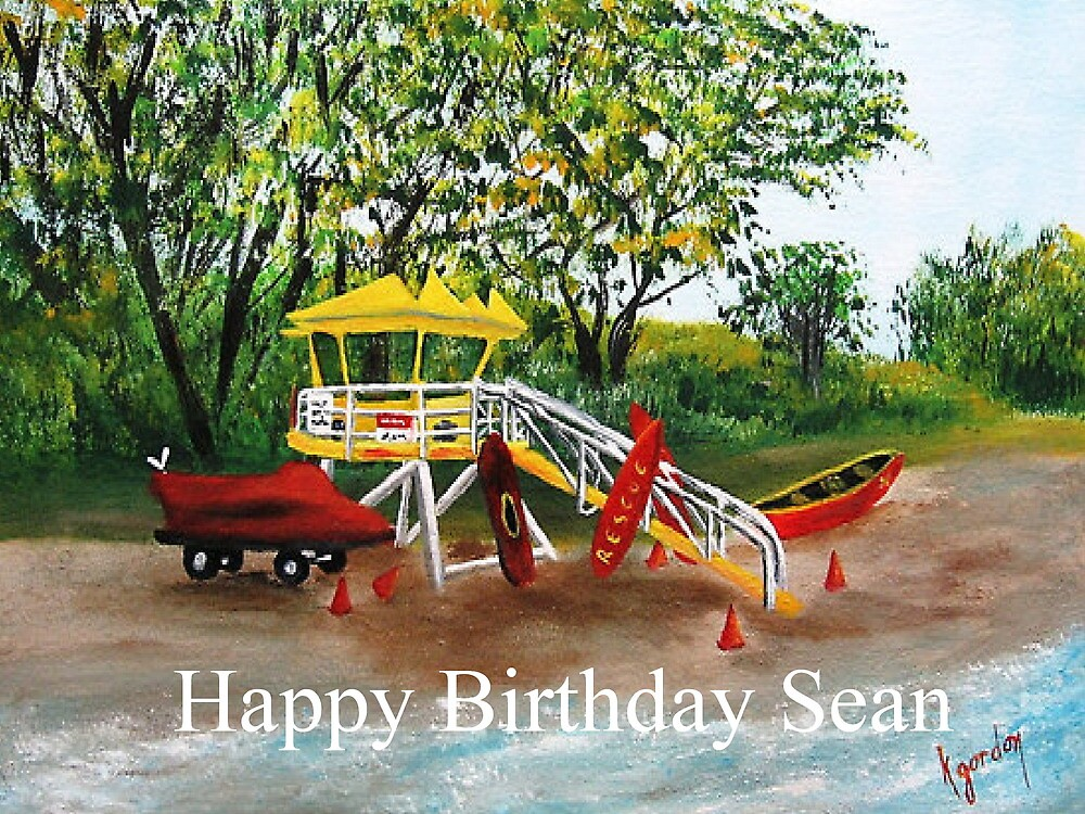 Happy BIrthday Sean....... by WhiteDove Studio kj gordon