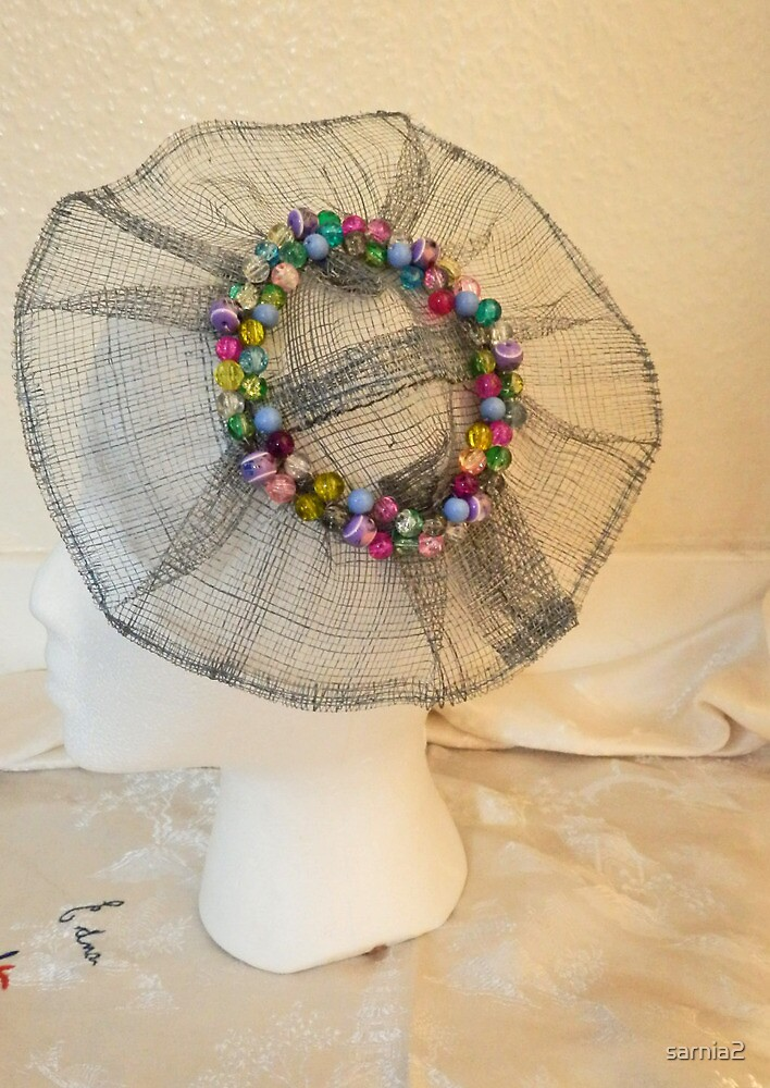 Beaded Fascinator - Hand crafted by sarnia2