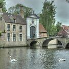 Brugge - I , Belgium by Peter Wiggerman