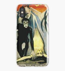 The Cabinet of Dr. Calgari - Silent Movie poster iPhone Case