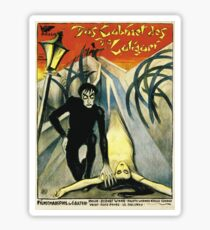 The Cabinet of Dr. Caligari - Silent Movie poster Sticker