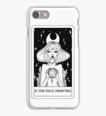 II The High Priestess Tarot Card Design  iPhone Case/Skin