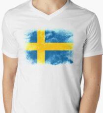 sweden Men's V-Neck T-Shirt