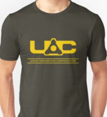 UAC - Doom Yellow Unisex T-Shirt