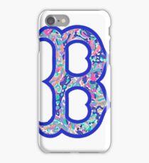 Boston B iPhone Case/Skin