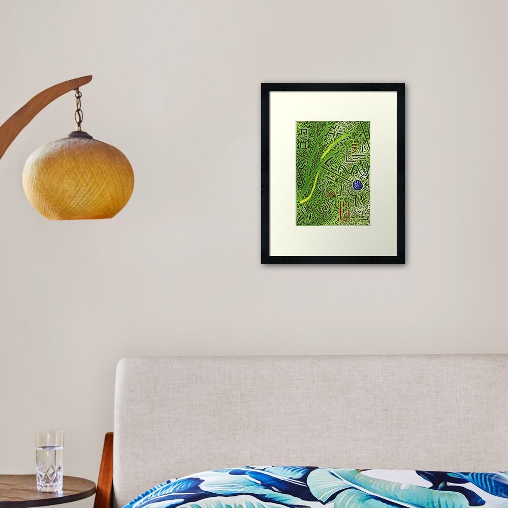 RAYCLEST 3 Framed Art Print