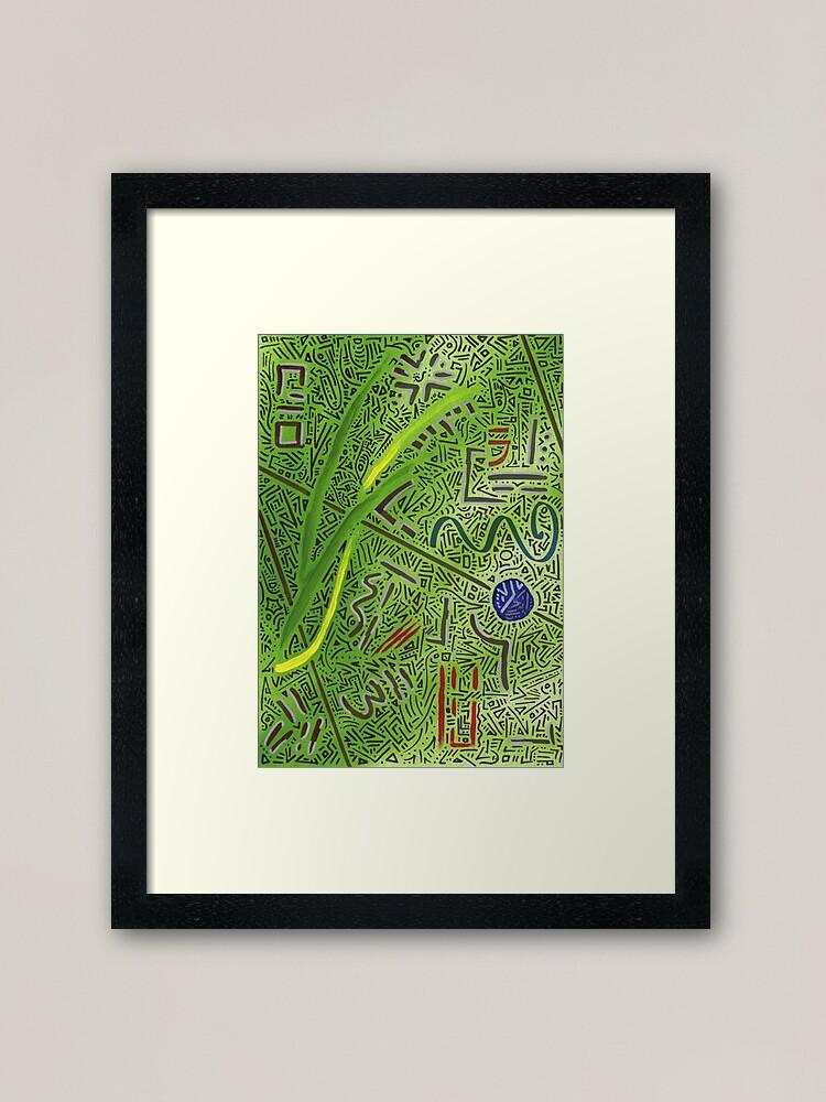 Alternate view of RAYCLEST 3 Framed Art Print