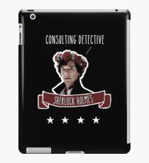 Consulting detective Sherlock Holmes iPad Case/Skin