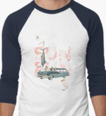 Sun Fun Men's Baseball ¾ T-Shirt