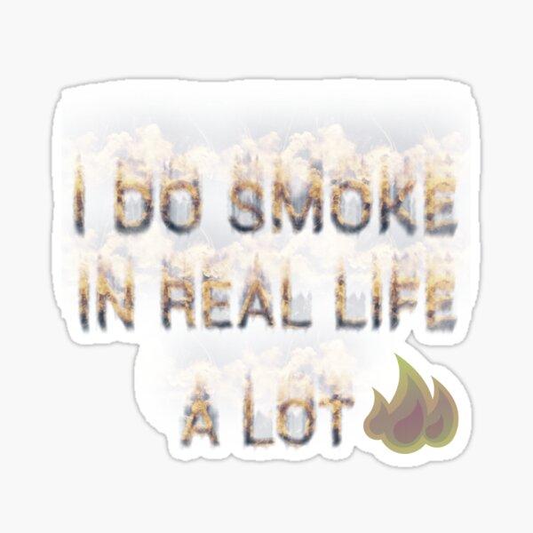 SMOKE Sticker