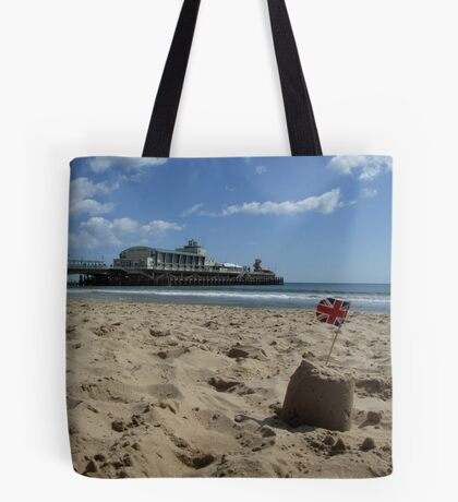 Bournemouth Pier Tote Bag