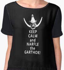 Narfle the Garthok! Chiffon Top
