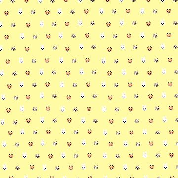 Tiny Animal Friends (Yellow) by ATinyShadow