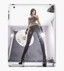 Glycerin low angle view  iPad Case/Skin