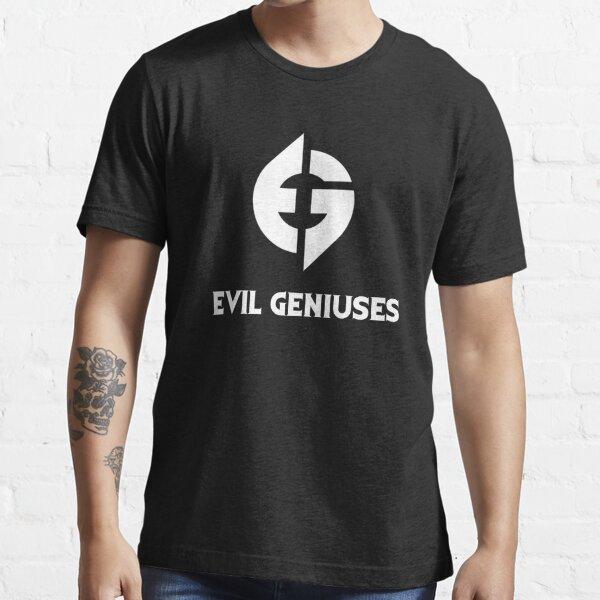 Evil Geniuses Typography  Essential T-Shirt
