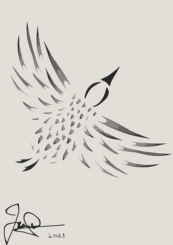 The Flying Bird by JamesAshford