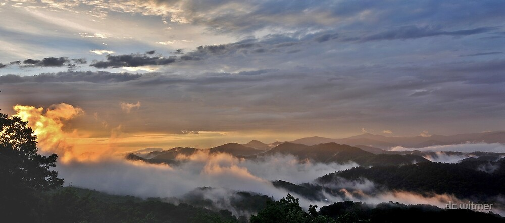 smoky mountain sunrise by dc witmer