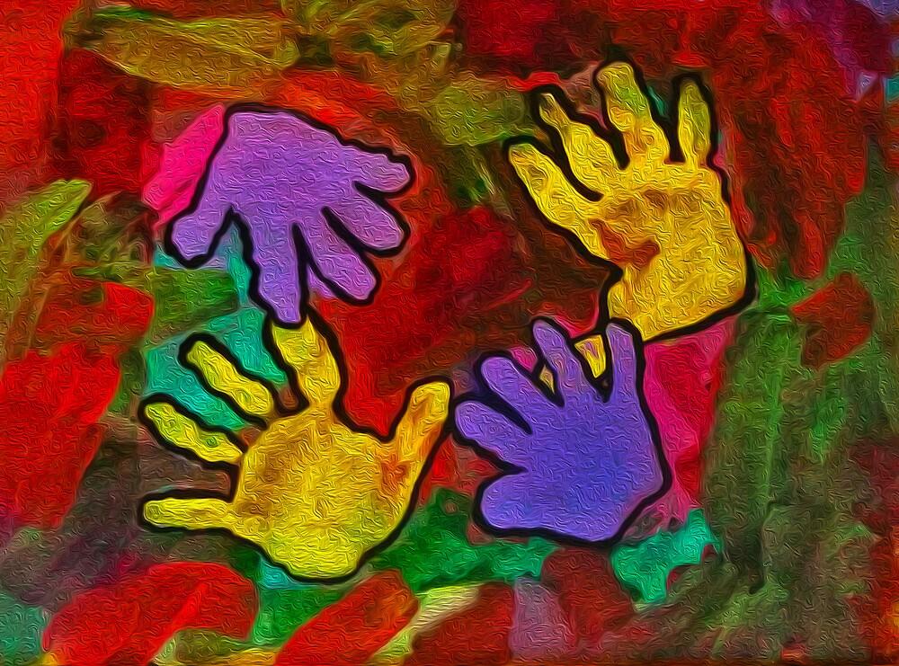 Loving Hands 1 by susangabrielart