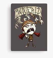 Wigfrid - Don't Starve Canvas Print
