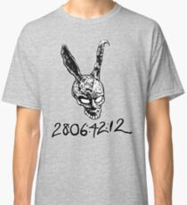 Donnie Darko Numbers Classic T-Shirt