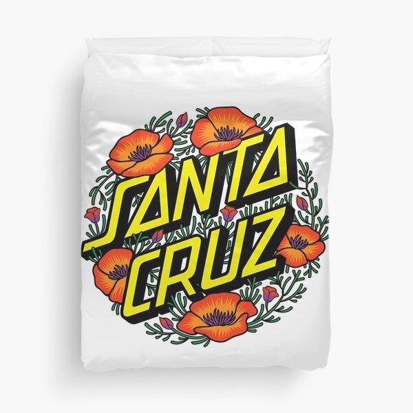 Best selling !! - santa crus flowers Duvet Cover