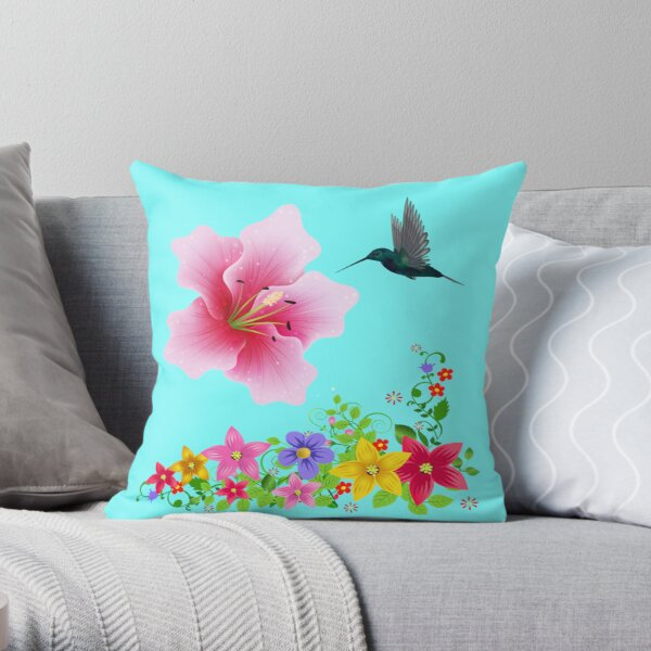Aloha Pillow and Tote Throw Pillow