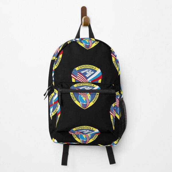 Expedition 8 Crew Patch  Backpack
