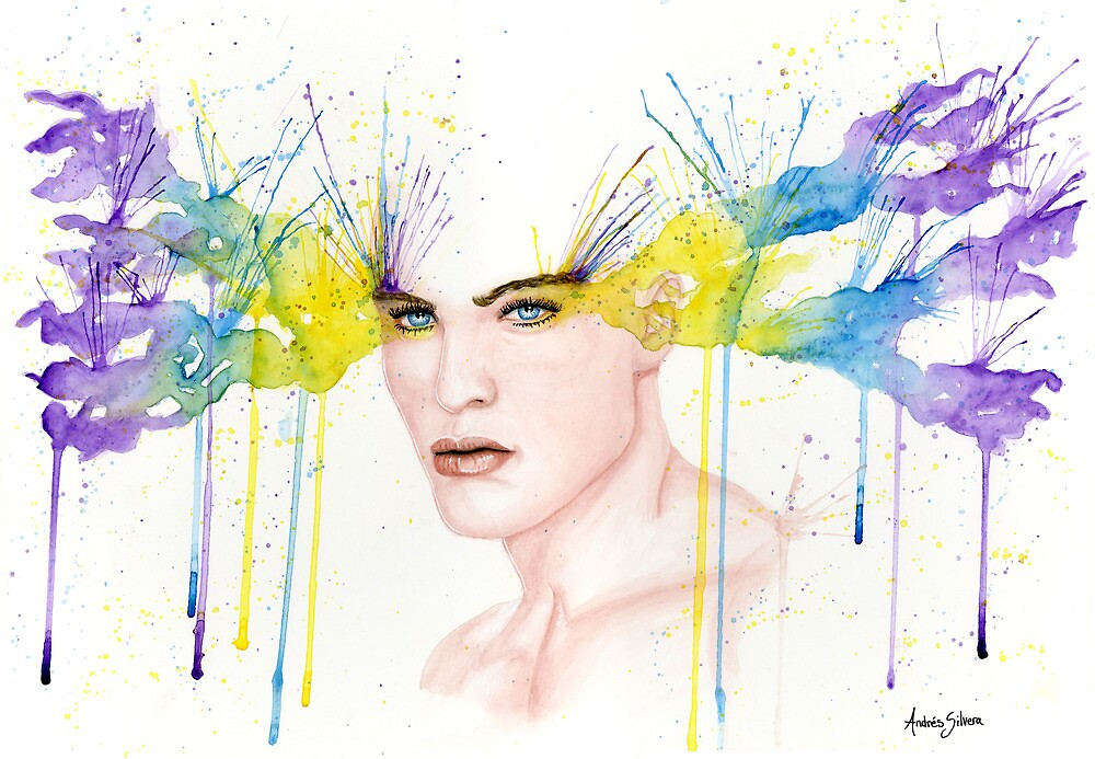 Colourful Captivation by Andres Silvera