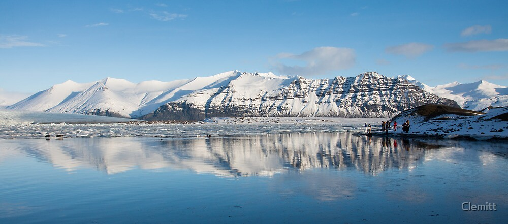 Jokulsarlon Glacial Lagoon, Iceland by Clemitt