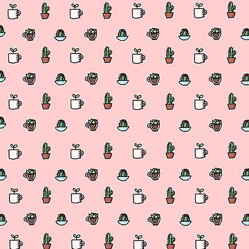 Tiny Plants (Pink) by ATinyShadow