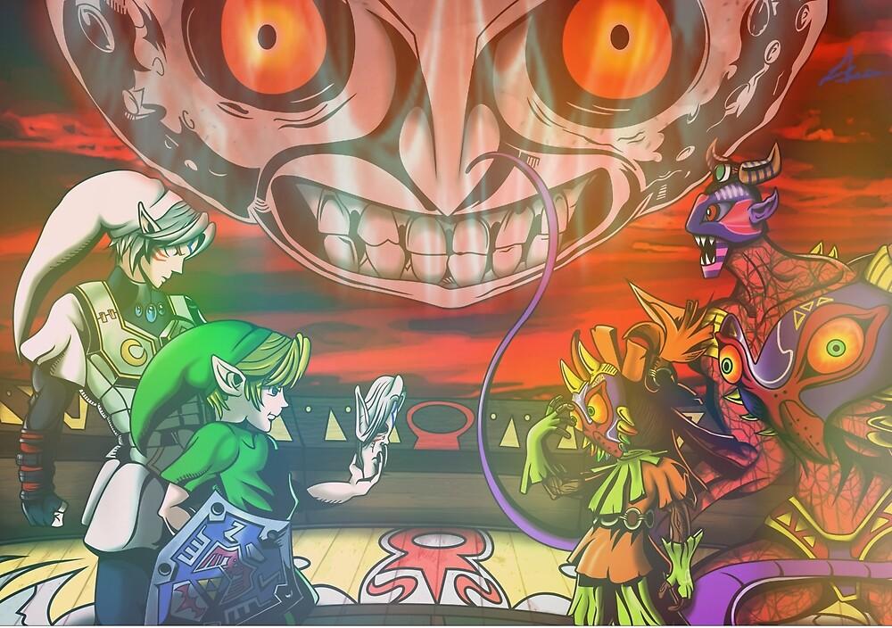 Legend of Zelda Majoras Mask by LuisIPT