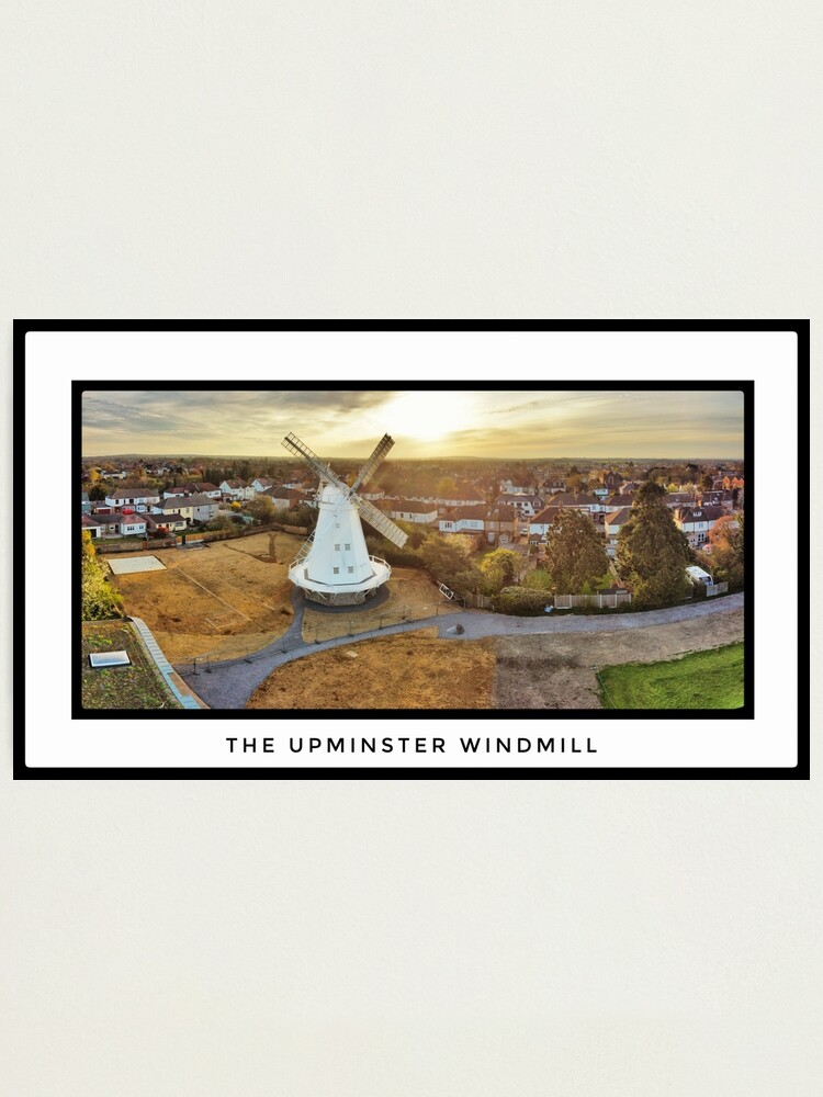 Alternate view of Upminster Windmill Photographic Print