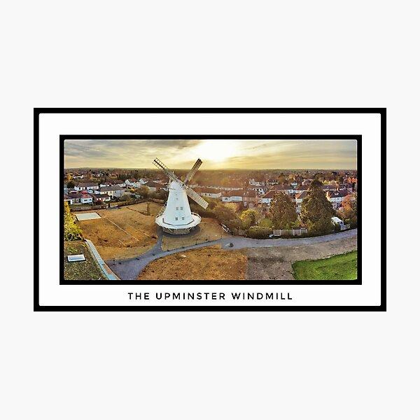Upminster Windmill Photographic Print