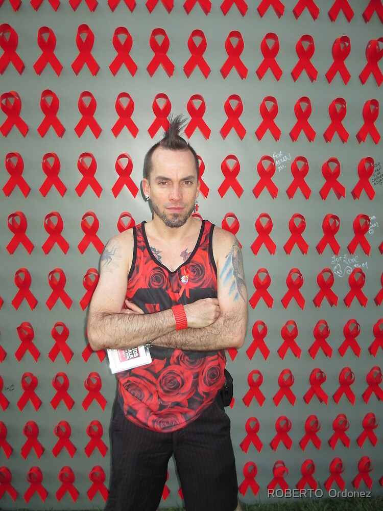 AIDS walk NYC by Robert Ordonez