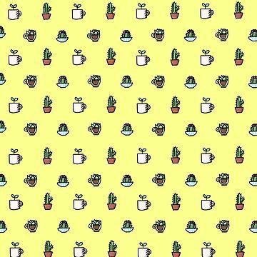 Tiny Plants (Yellow) by ATinyShadow