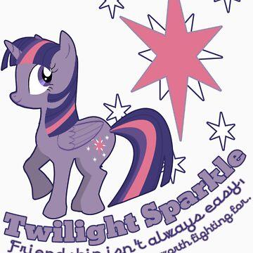 Twilight Sparkle - Friendship Isn't Always Easy by Gabihime