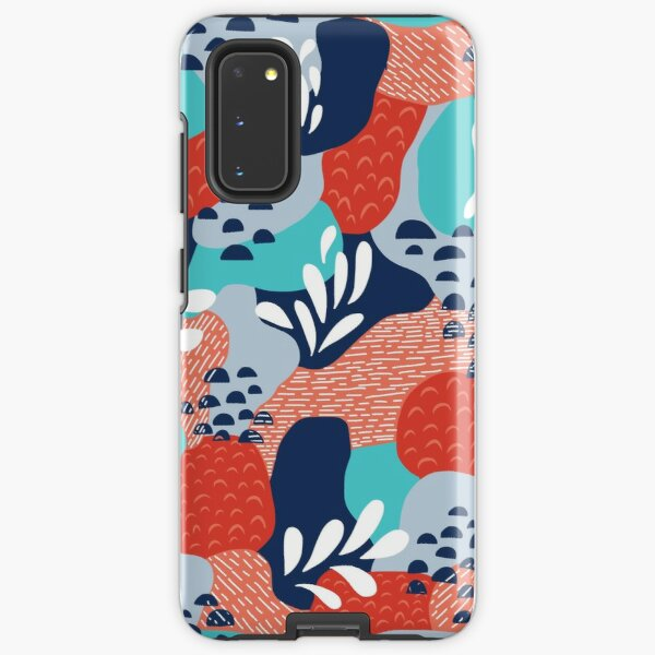 Abstract Mermaid Scales Samsung Galaxy Tough Case