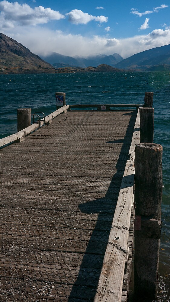 Wanaka Pier by Tim Burgess