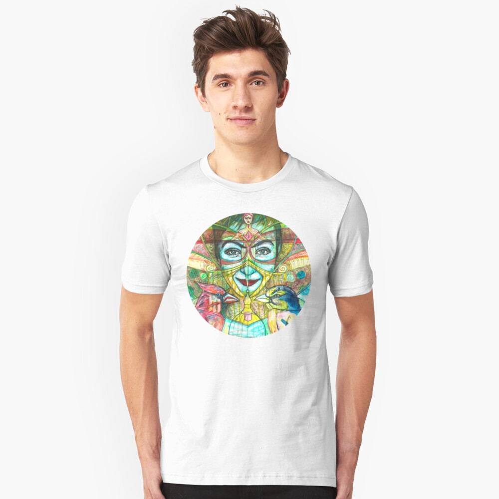 She Thought She Was Small and Trapped, but She Was Not. Unisex T-Shirt Front